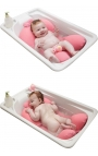Almohada de baño para bebé - Rosa