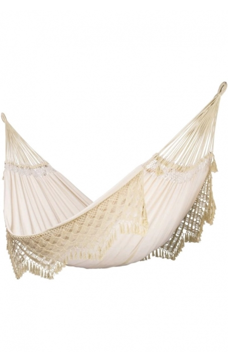 Two-person Smooth Natural Brazilian Hammock