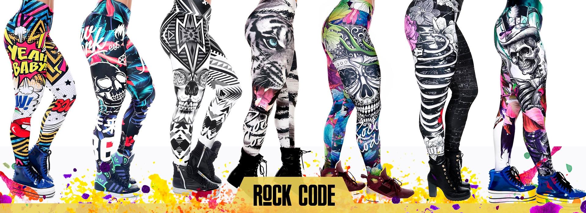 Pantalones deportivos Rock Code